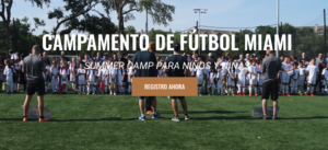 summer soccer camp miami